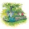 База отдыха Лепота - иконка «сад» в Зарубино